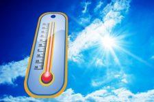 紫外線と温度計