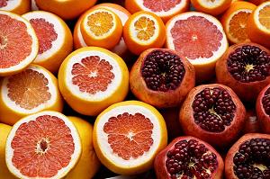 ビタミン豊富なオレンジ