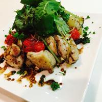 鶏肉と野菜のグリル