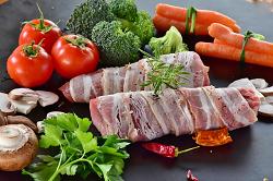 ビタミン豊富な豚肉料理